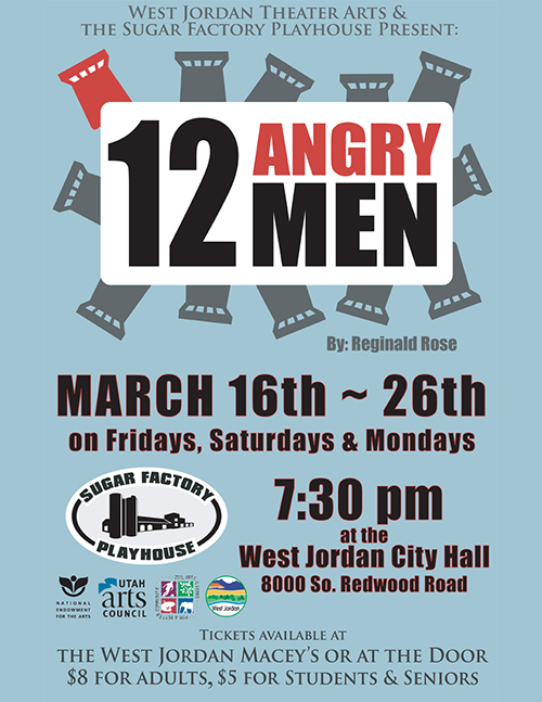 12 Angry Men - SugarFactory Playhouse
