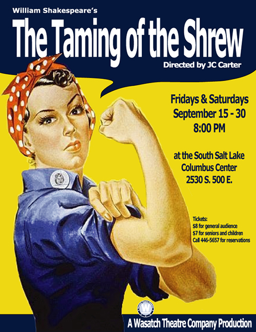 The Taming of the Shrew - Wasatch Theatre Company
