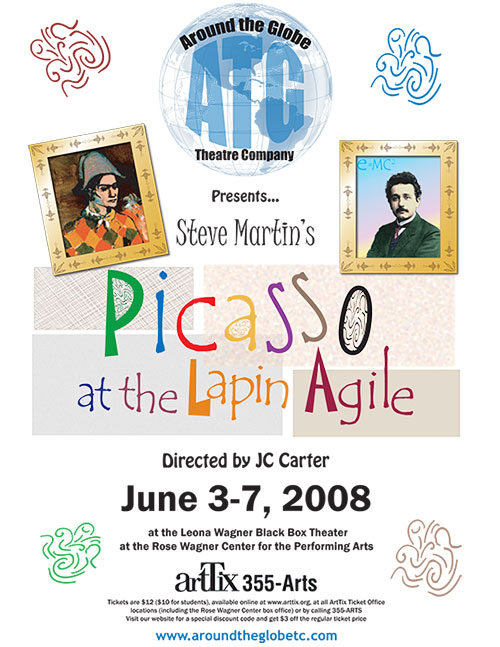 Picasso at the Lapin Agile - ATG