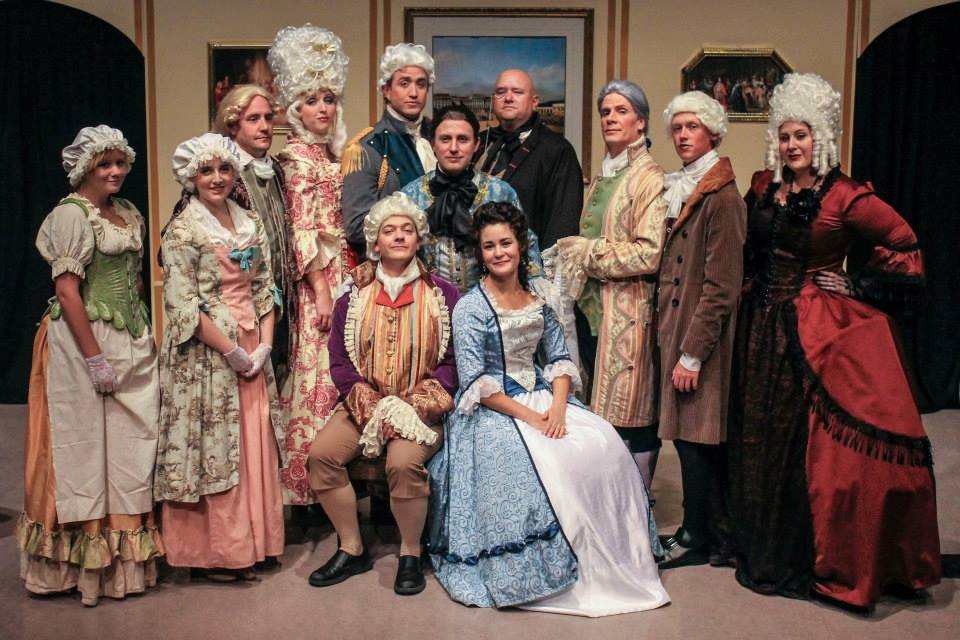Amadeus Full Cast - Photo by Shianne Gray
